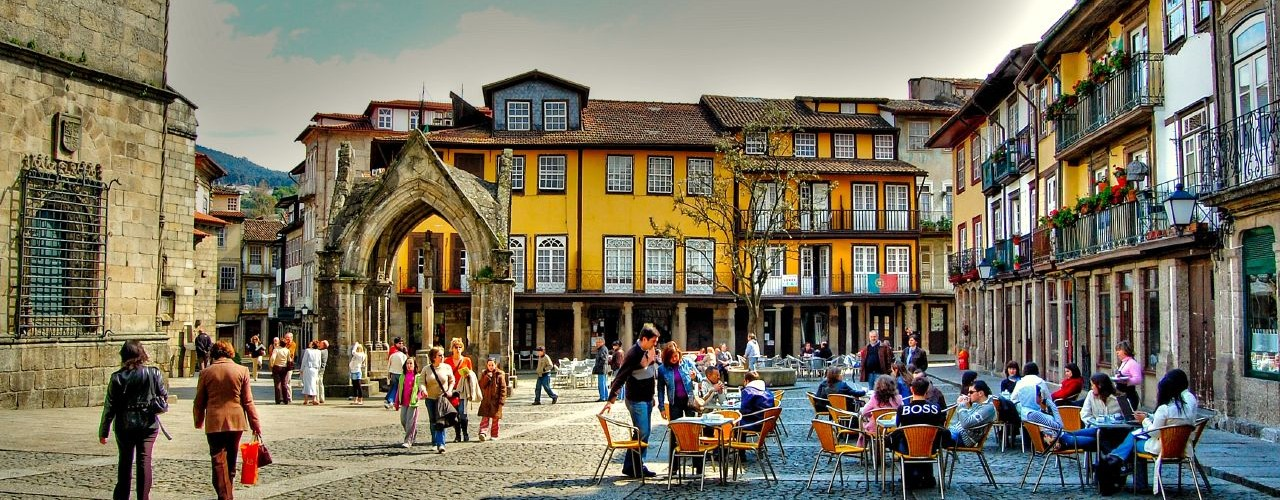 centro histórico guimarães
